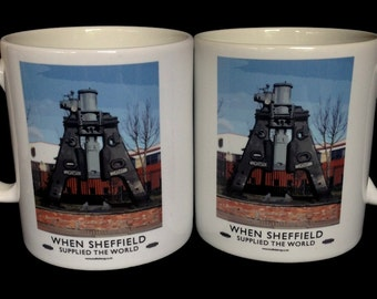 Sheffield Mug: Steam Hammer