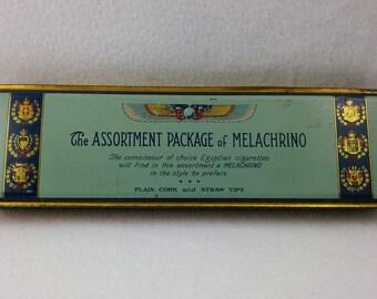 Vintage Melachrino Egyptian Cigarette Tin