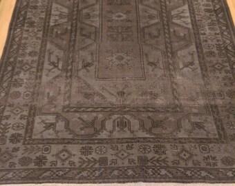 Vintage Grey Turkish Carpet