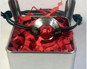 Adjustable State Quarter Bracelet - Clad