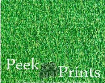 4ft.x4ft. Turf Grass Vinyl Photography Backdrop - Grass Floor Drop - Floordrop