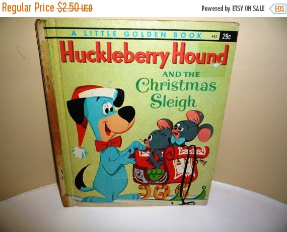 labor day sale vintage 1960 huckleberry hound by krisgoespicken. Black Bedroom Furniture Sets. Home Design Ideas