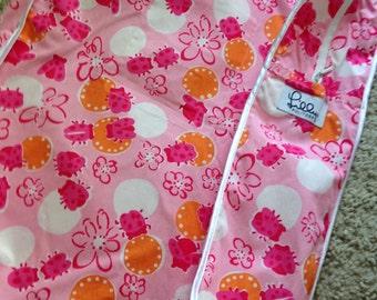 Lilly Pulitzer Ladybug Design Satchel/Sleeve