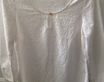 White Eylet Ladies Top from Lilly Pulitzer