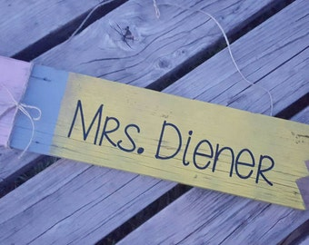 Teacher Door Sign, Teacher Gift, teacher appreciation!