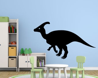 Dinosaur Vinyl Wall Decal - Hadrosaurus, Large Sizes for Kids Rooms, Preschool, Playrooms, Nursery, School Classroom, Childrens Home Decor