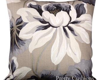 Designers Guild Baudard Linen Silver Cushion Cover