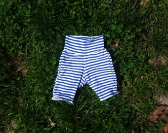 Bamboo/spandex blend baby bike shorts, size 6-12 months