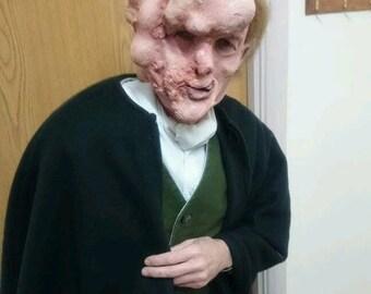 Monster mask Latex. Deformed. Elephant man. Boils latex