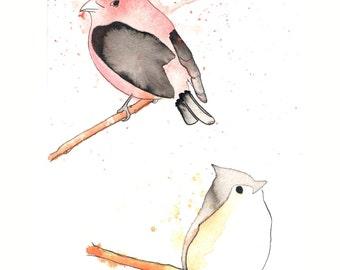 Two Birds Print