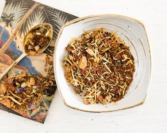 Herbal Tea / Fruity Herbal Tea / Hawaiian Fruit Tea / Rooibos Tea / Mango tea / Aloha Girl Tea
