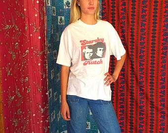 70s T Shirt Graphic T Shirt Starsky Hutch T Shirt