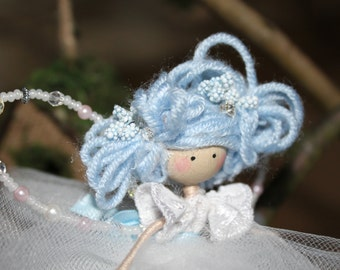 Bluebell Wire Fairy Doll