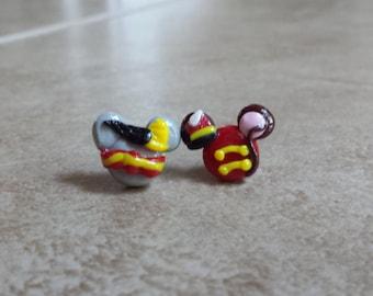 Dumbo Mickey Mouse Inspired Earrings