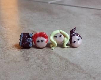 Hocus Pocus Inspired Earrings---Sanderson Sisters Inspired Earrings