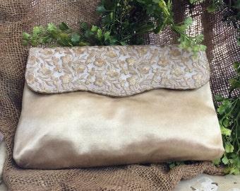 Gold Evening Bag Clutch