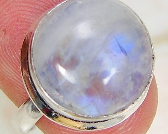 Ring sterling silver. 925 Moonstone