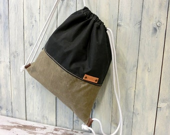 Bag, drawstring bag, everyday bag