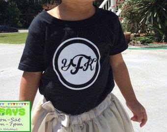 Monogram # 7 - Monogram shirt for Girls