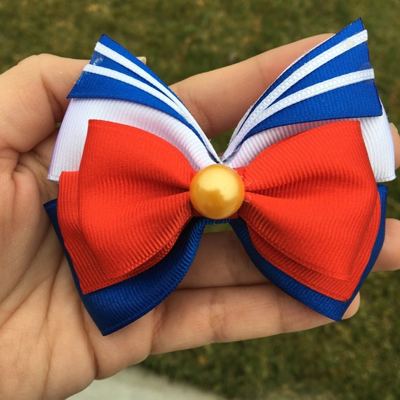 how to make a sailor moon bow