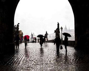 "Prague Photography, Charles Bridge, ""Archway"""