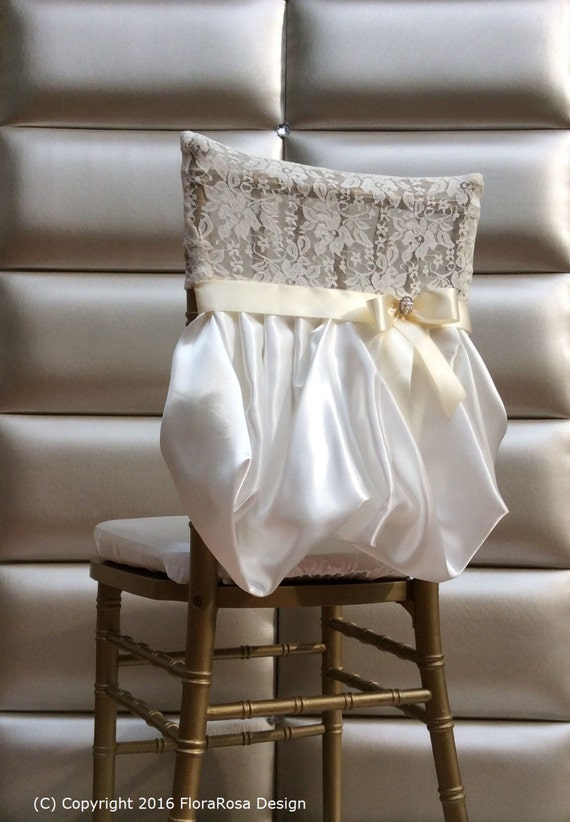 Set Of 2 Chair CoversBride And Groom Chair CoversWedding