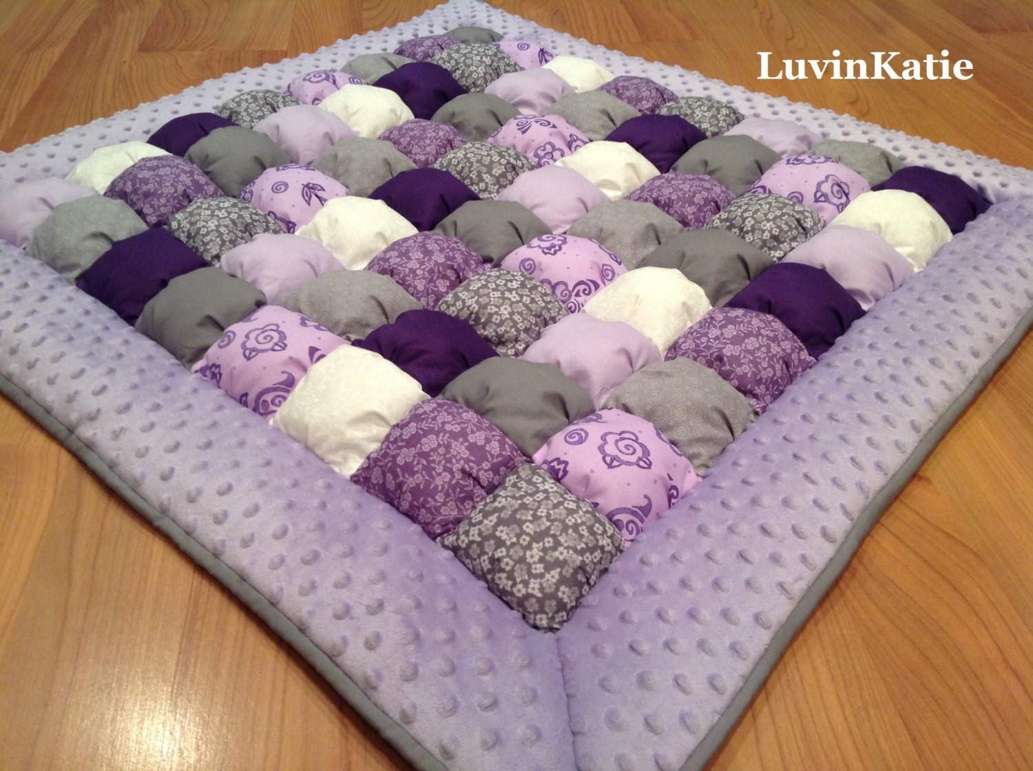 Free Pattern For Baby Puff Quilt : Bubble Quilt Bubble Blanket Puff Quilt Baby Floor Mat