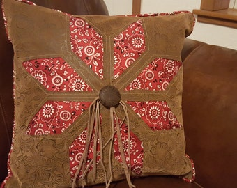 Western Quilted Pillow