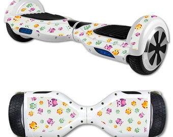 Skin Decal Wrap for Self Balancing Scooter Hoverboard unicycle Owls