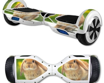 Skin Decal Wrap for Self Balancing Scooter Hoverboard unicycle Rabbit