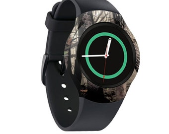 Skin Decal Wrap for Samsung Gear S2, S2 3G, Live, Neo S Smart Watch, Galaxy Gear Fit cover sticker Tree Camo