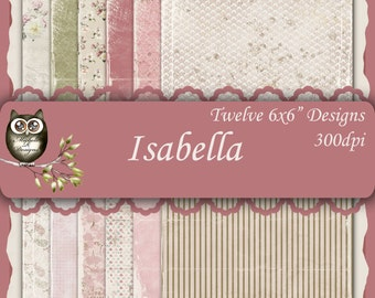 Isabella 6x6 Collection - Instant Download