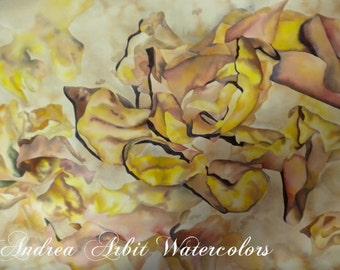 "Debris - 22""x30"" Watercolor Painting"