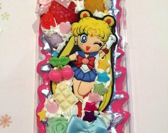 Kawaii Sailor Moon  iphone 6 case creamy