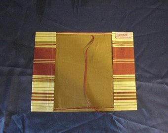 New item!  Fabric paperback book cover