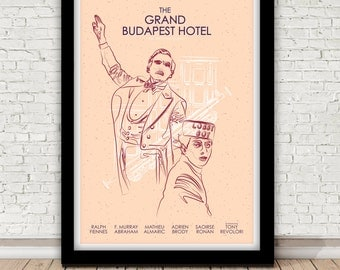 The Grand Budapest Hotel poster - Wes Anderson - 2014