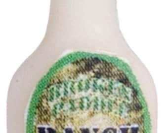 DOLLHOUSE MINIATURES Ranch Salad Dressing #FA40204
