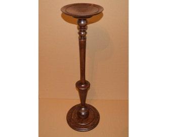 "Vintage Fern stand 30"" / Plant Stand / Wood Pedestal Table / Wooden plant holder"