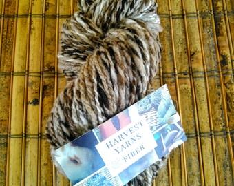 "Hand Spun Yarn ""Latte"" Merino Gradient/Alpaca"