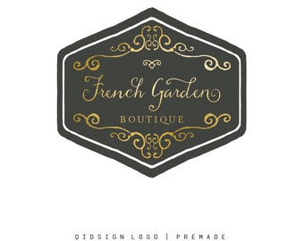Custom Logo - Premade Logo - Logo - Business Logo - Branding Logo - Photography Logo - Boutique Logo - Gold Logo