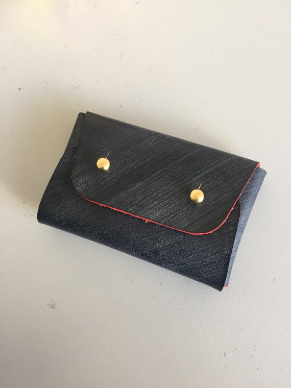 Business card holder/ Origami coin and card wallet/ Business - photo#11