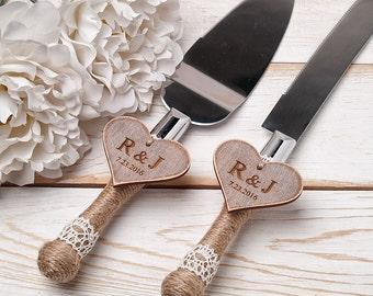 Wedding Cake Servers Knives Etsy UK