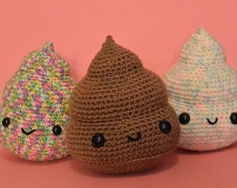 Cute Amigurumi Poops *Made to Order*