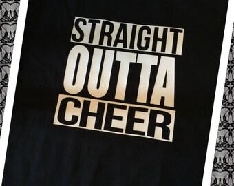 Cheer- Straight Outta Cheer T-shirt