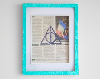 Deathly Hallows Symbol Cut-out