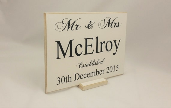 His And Her Wedding Gifts Ideas : , Wedding Decor Ideas, HIS and Her Sign, Important Date, Wedding Gift ...