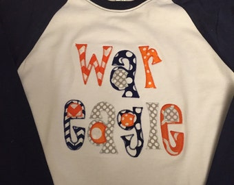 War Eagle Auburn Raglan Shirt