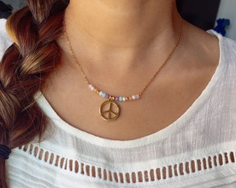 Peace necklace