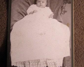Antique Victorian Child's Studio Photograph