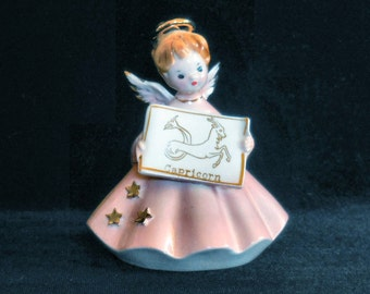 Joseph Originals Zodiac Figurine Capricorn Angel